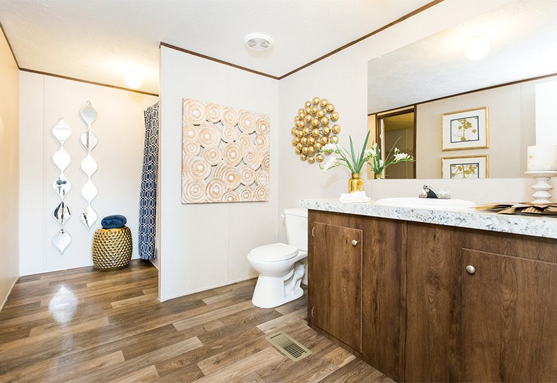 TruMH Steal II / Wonder Mobile Home Master Bathroom