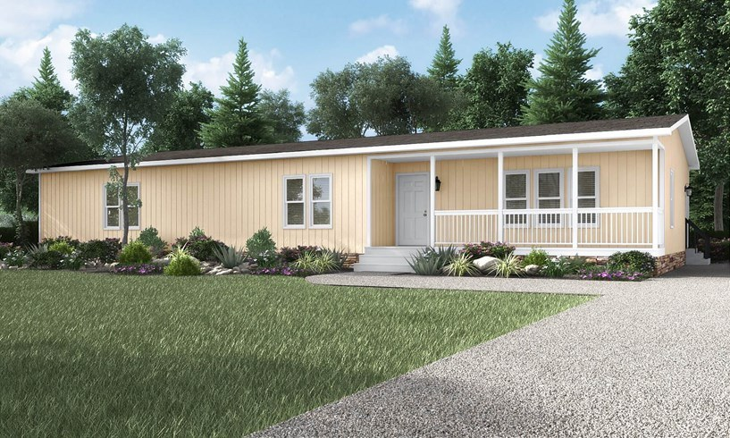 The Snead DEV32683A Mobile Home Exterior
