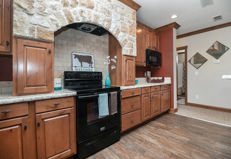 The Snead DEV32683A Mobile Home Kitchen