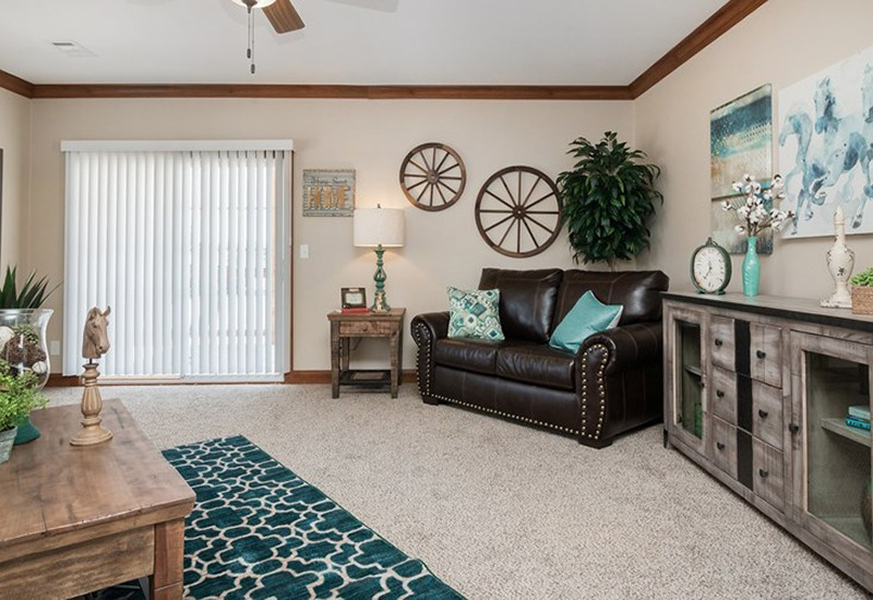 The Snead DEV32683A Mobile Home Living Room