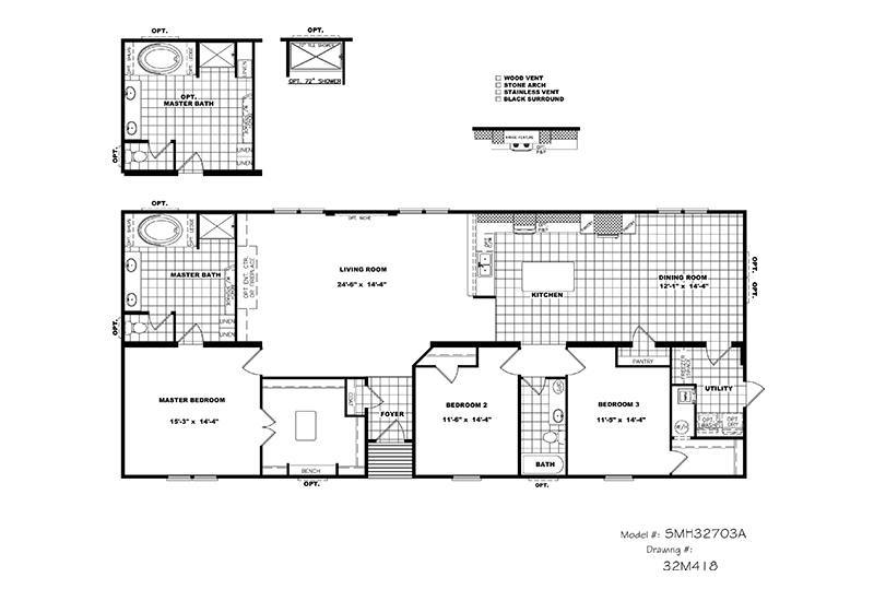 Picture Of CMH Schult Tyler Mobile Home Of Floor Plan