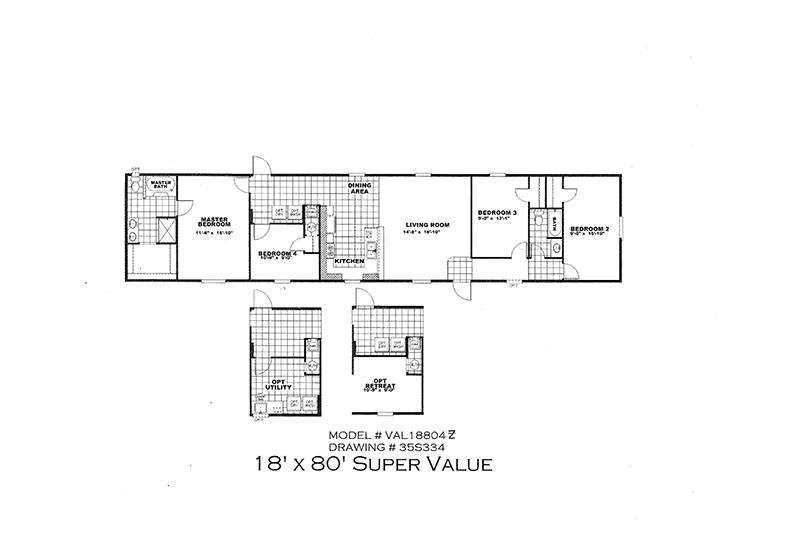 Cmh Value 18804z 4 2 Mobile Home For Sale