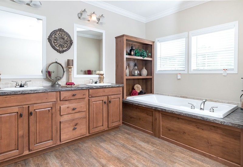 Tyler Mobile Home Master Bathroom