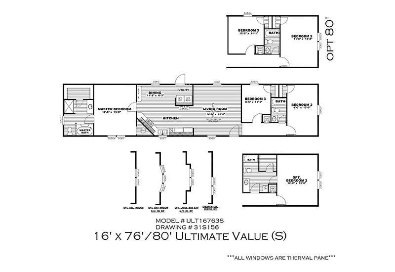 Value Of Mobile Homes cmh ultimate value 16763s mobile home for sale