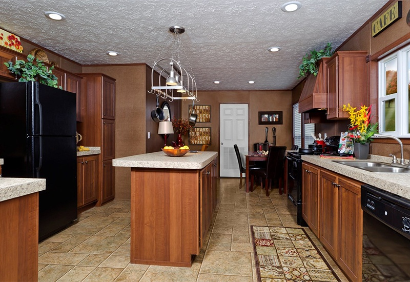 CMH Goodlife INS32563V Mobile Home Kitchen