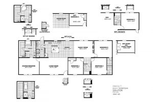 CMH Choice SLT28724A Mobile Home Floor Plan