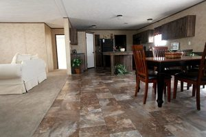 CMH King SLT32685A Mobile Home Dining Area and Kitchen