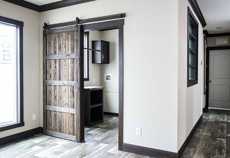 Patriot Home - Utility Room Barn Door 2