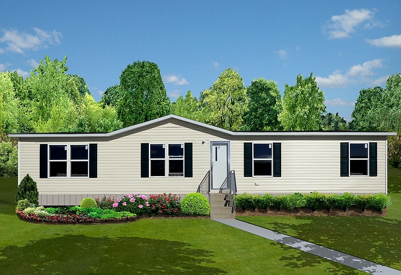 TruMH Liston Mobile Home Exterior