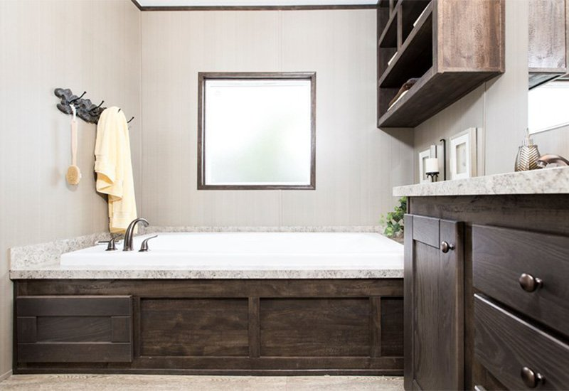 The Resolution RSVX Bed Bath Mobile Home For Sale - Mobile home bathroom cabinets