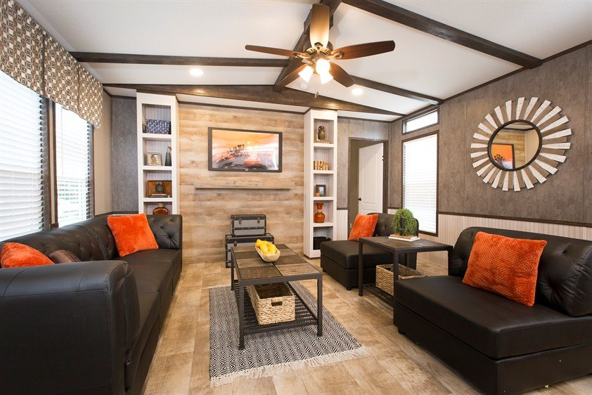 mobile home living room decorating ideas cmh smart buy smb16803w 3 bed 2 bath mobile home for 24493