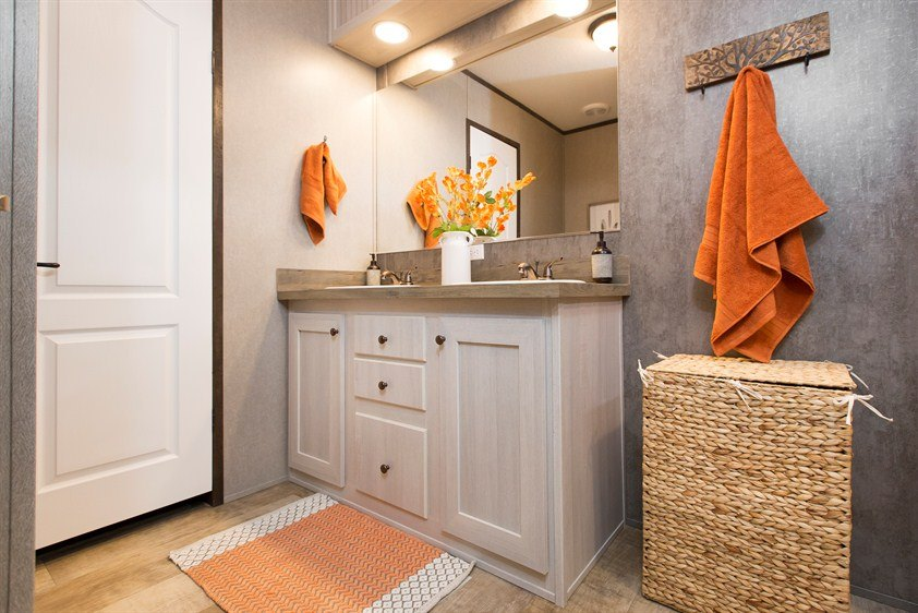 CMH Smart Buy SMB16803W Mobile Home Master Bathroom