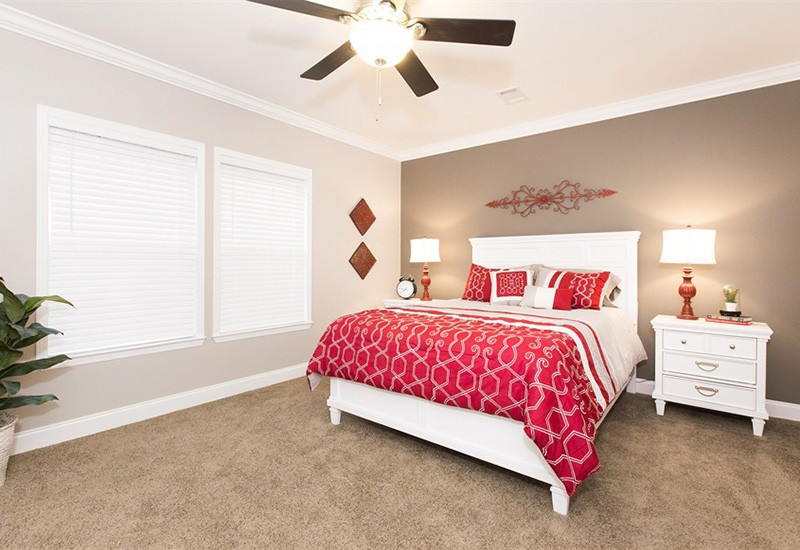Clayton Schult Newport Mobile Home Master Bedroom