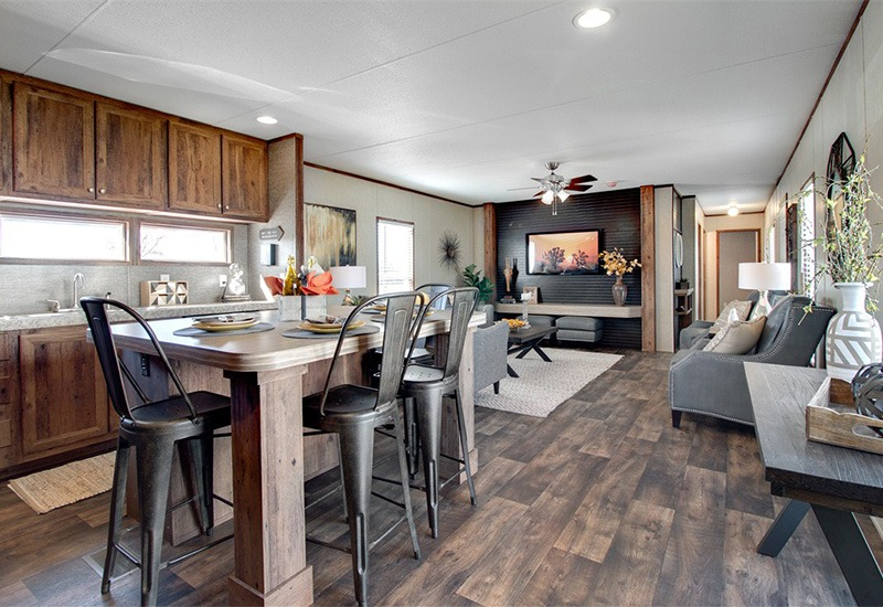 REVOLUTION-Dining Area and Living Room - Mobile Homes Direct 4 Less