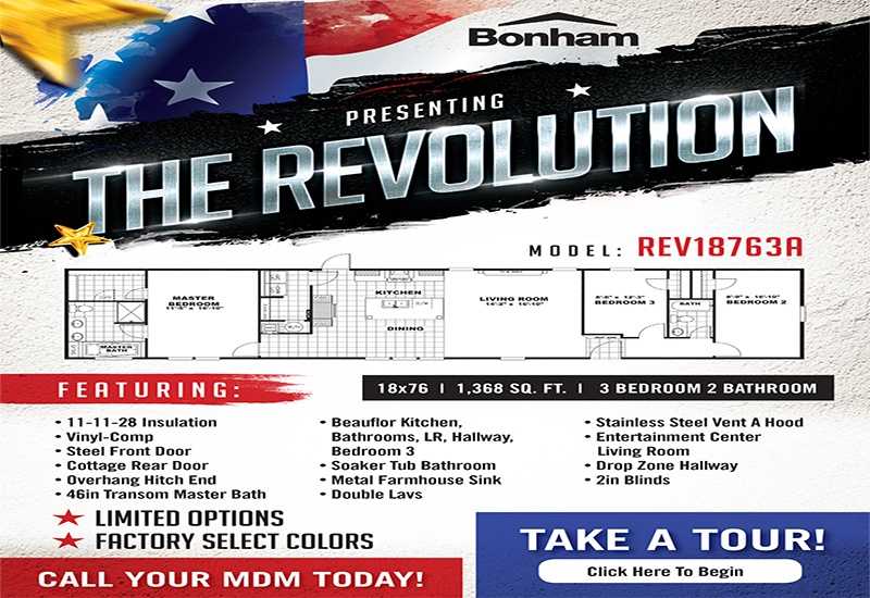 Revolution Standard Features
