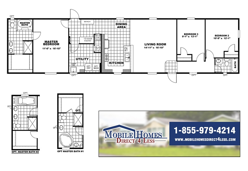 Clayton Commodore - 18763A on 2000 skyline mobile home floor plans, 2005 fleetwood mobile home floor plans, 2007 fleetwood mobile home floor plans, 2006 fleetwood mobile home floor plans,