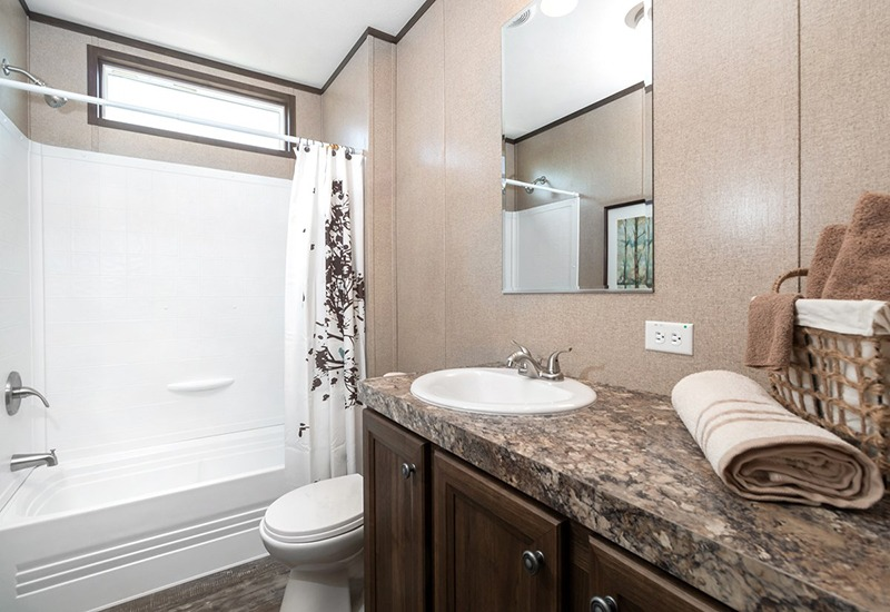 Power House Mobile Home Guest Bathroom
