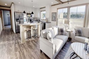 Clayton Annie - Mobile Home - Living Room and Kitchen