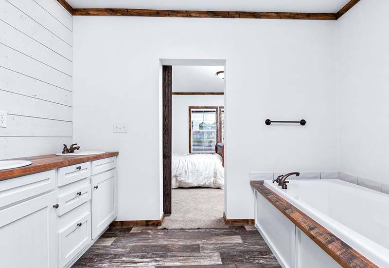 Clayton Lilly Mae - Mobile Home - Master Bathroom