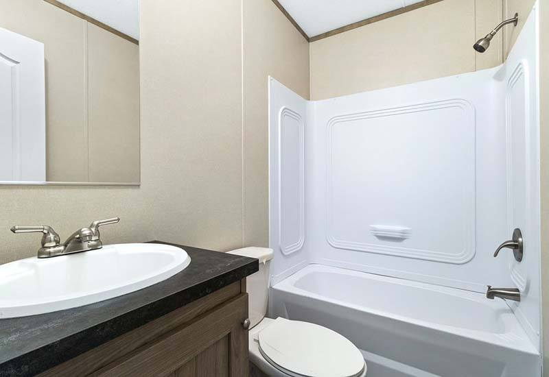 Independent - Mobile Home - Guest Bathroom
