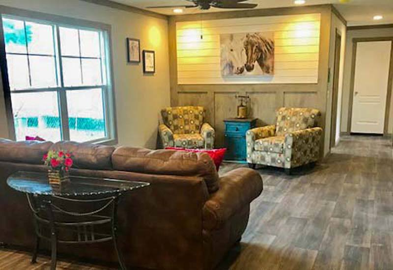 Clayton Nellie - Mobile Home - Living Room