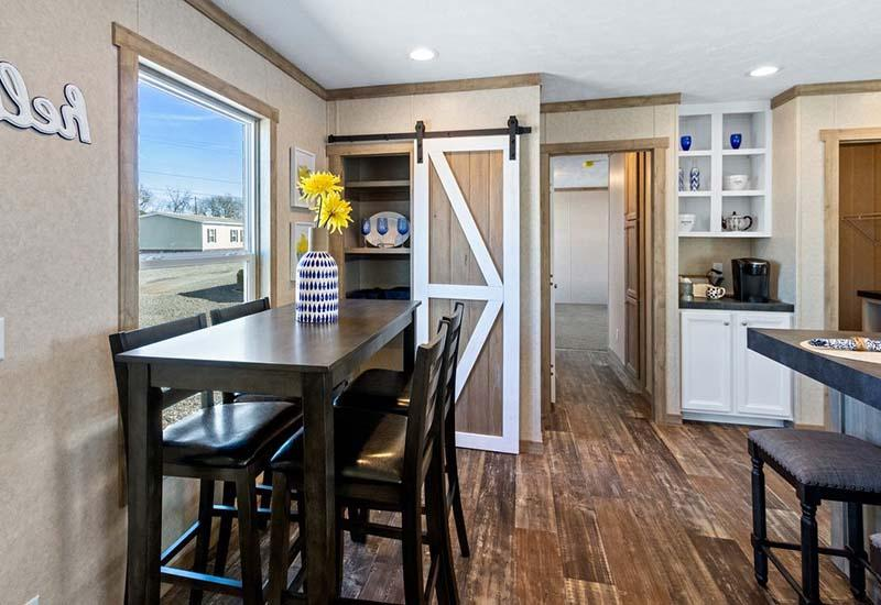 The Flex Mobile Home - Dining Area